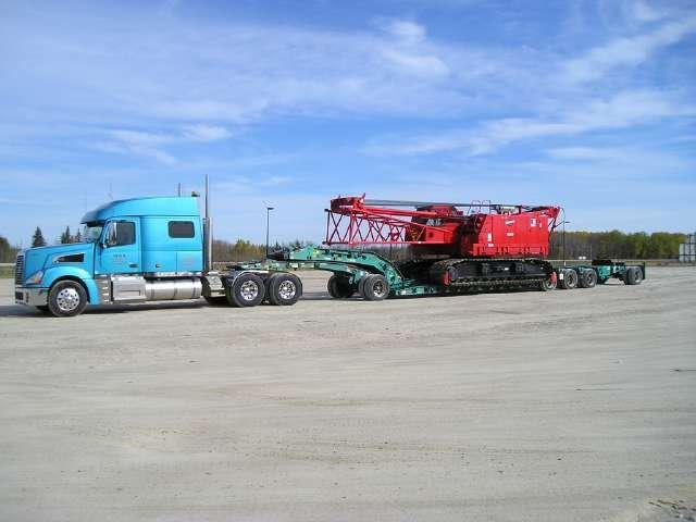 Crane Transport in Canada
